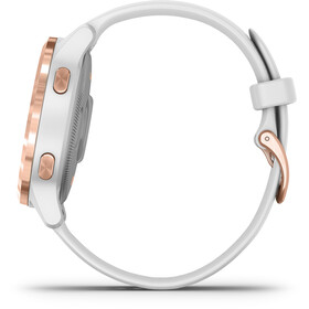 Garmin Vivoactive 4S SmartWatch, white/rose gold